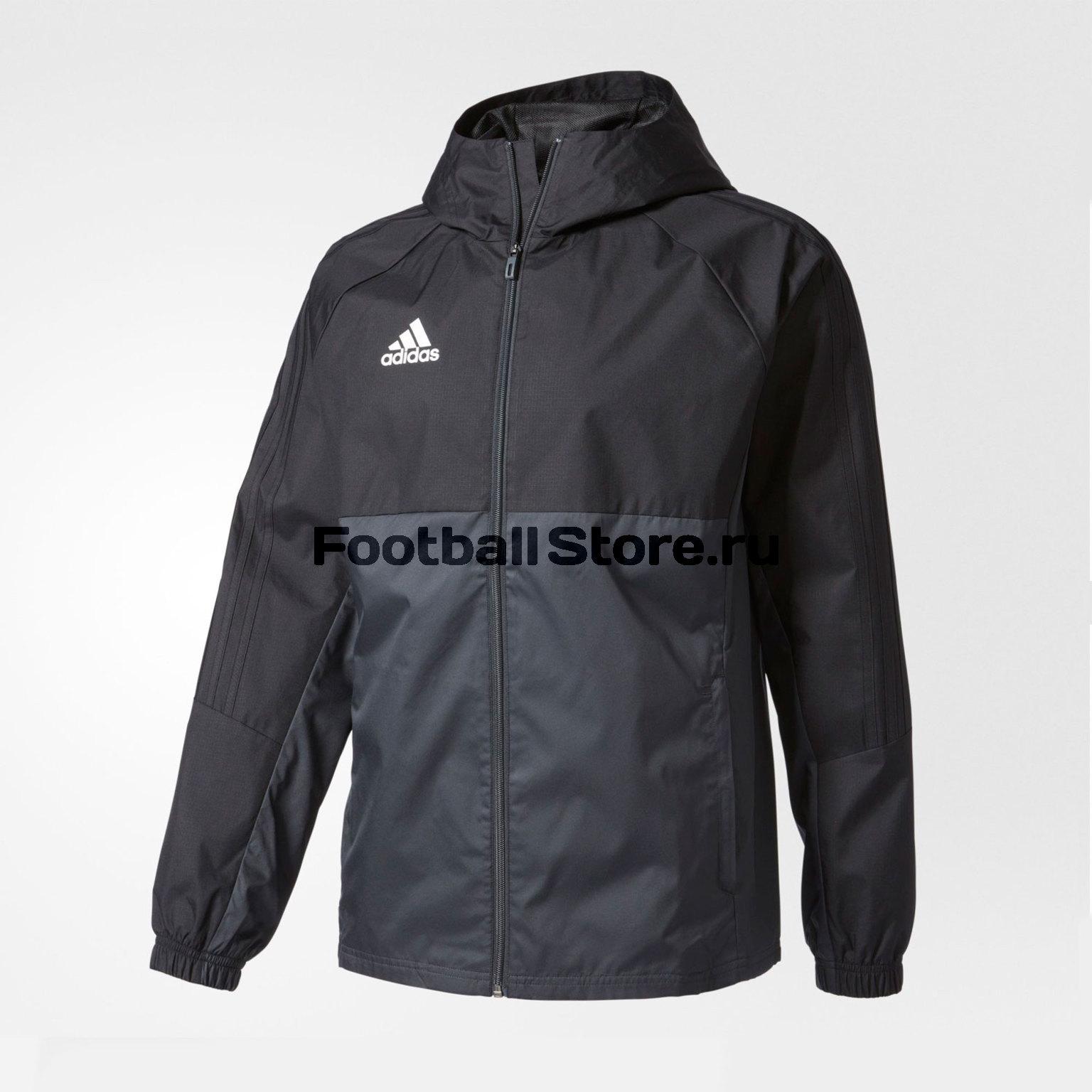 Ветровка Adidas Tiro17 RN JKT AY2889 ветровка мужская adidas con18 rain jkt цвет черный bq6528 размер l 52 54