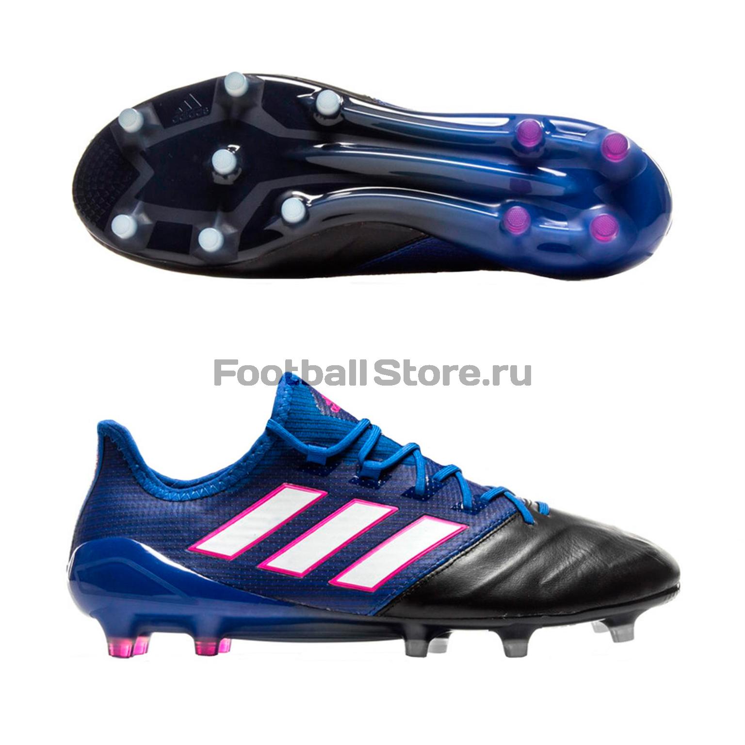 Игровые бутсы Adidas Бутсы Adidas Ace 17.1 Leather FG BB0463 adidas бутсы adidas ace 16 3 fg leather aq4456