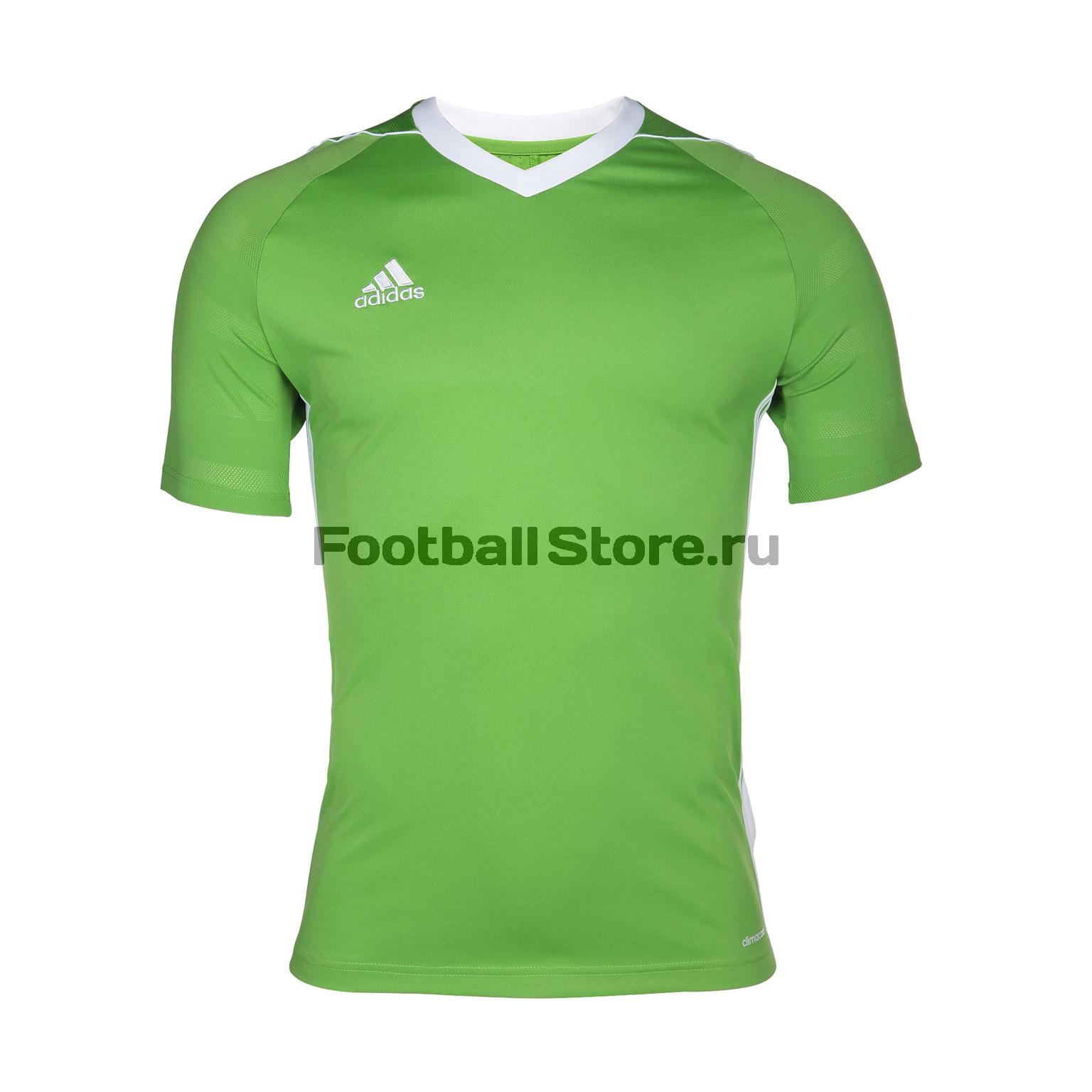 Футболка тренировочная Adidas Tiro17 JSY BK5428 футболка тренировочная adidas tiro19 tr jsy dt5288