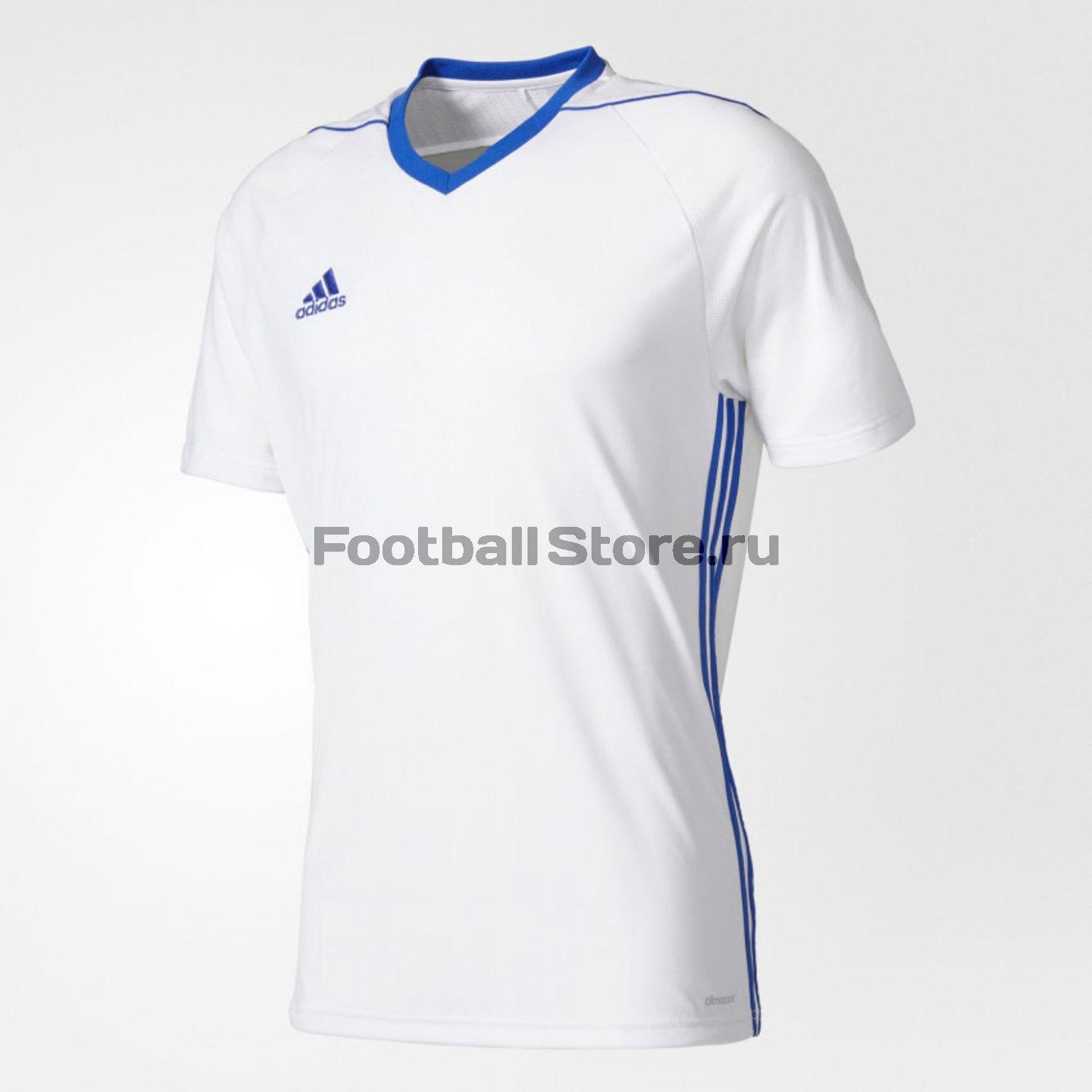 Футболки Adidas Футболка игровая Adidas Tiro17 JSY BK5434