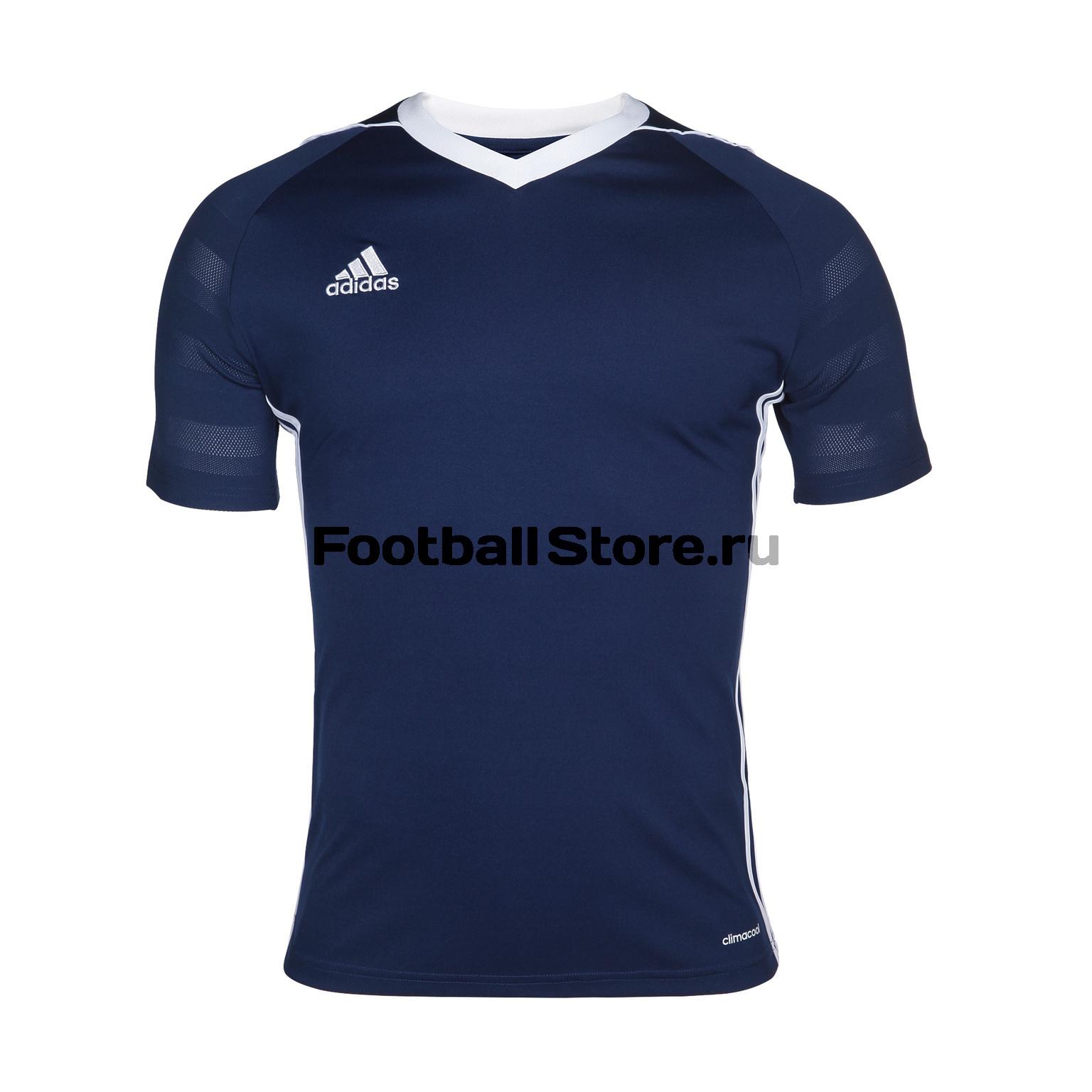 Футболки Adidas Футболка игровая Adidas Tiro17 JSY BK5438