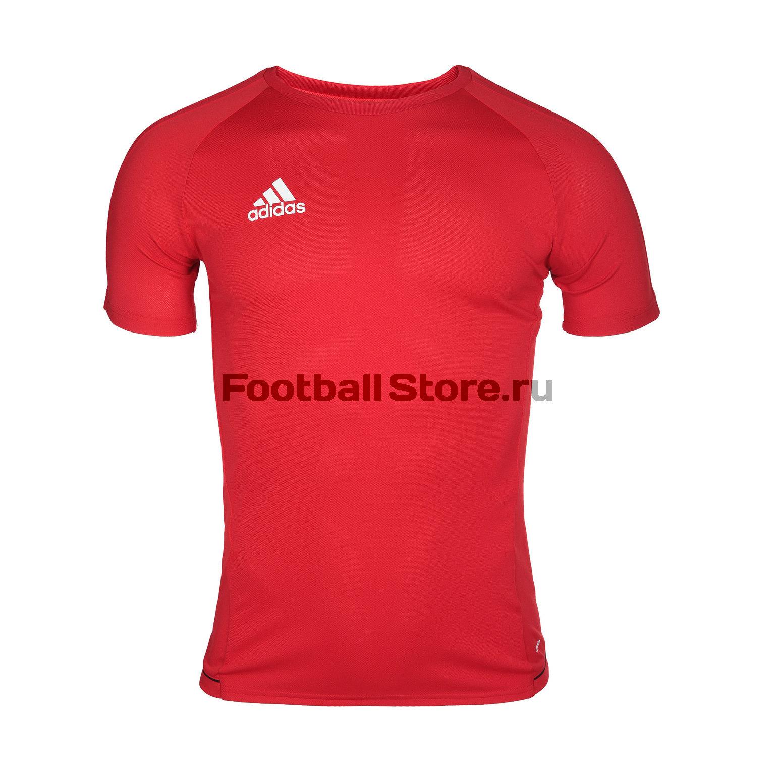Футболка тренировочная Adidas Tiro17 CL JSY BQ2704 футболка тренировочная adidas tiro17 tee ay2964