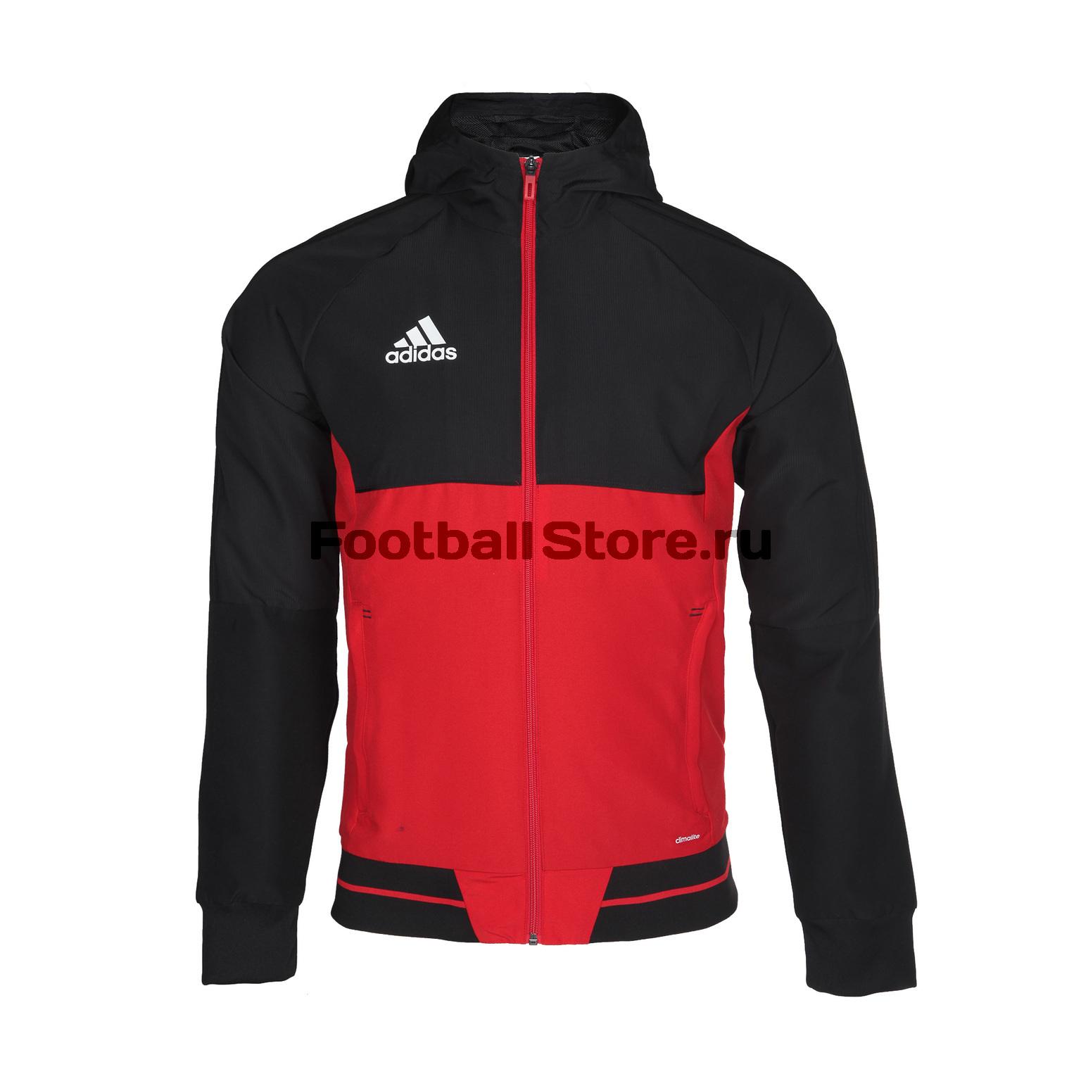 Ветровка Adidas Tiro17 Pre Jkt BQ2771 куртки adidas куртка kanoip pd jkt