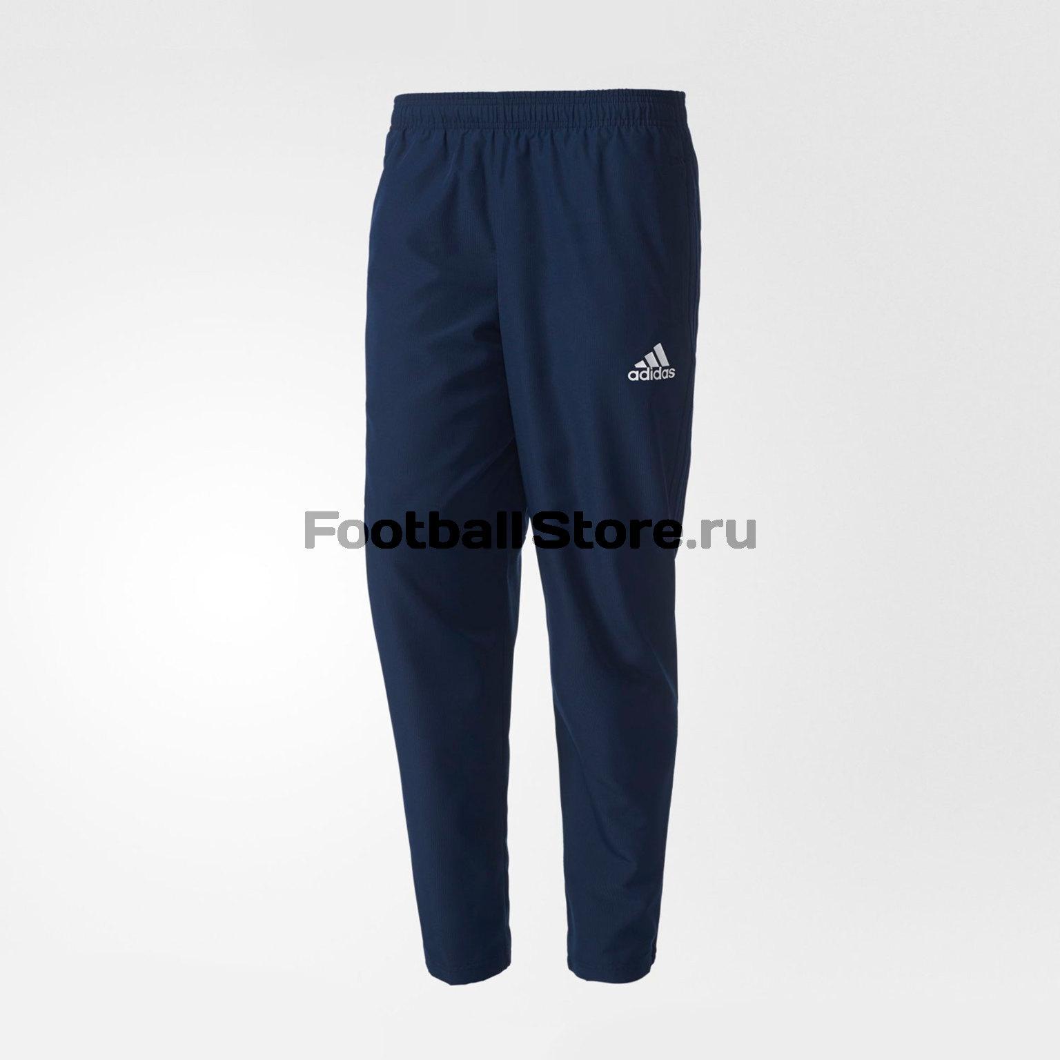 Брюки тренировочные Adidas Tiro17 Wov Pnt BQ2793 брюки adidas брюки тренировочные adidas tiro17 rn pnt ay2896