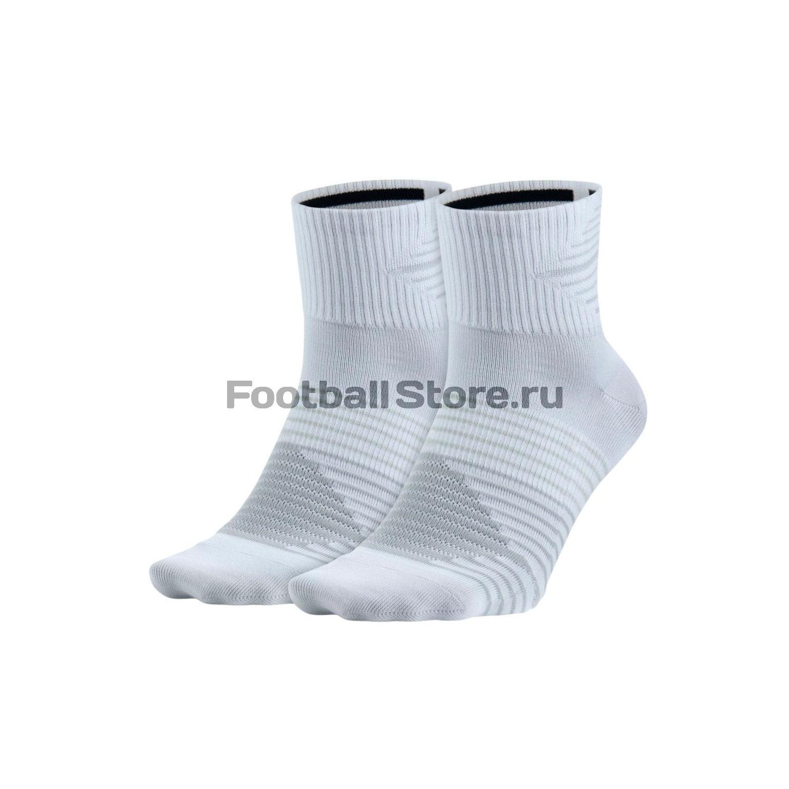 Комплект носков Nike U NK Perf LTWT QTR 2PR SX5198-100