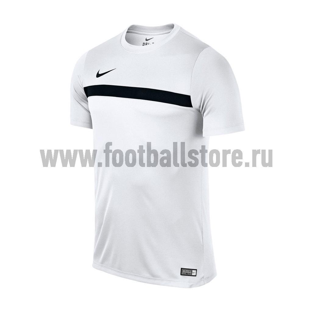 Футболки Nike Футболка тренировочная Nike Academy 725932-100 тренировочная установка 100
