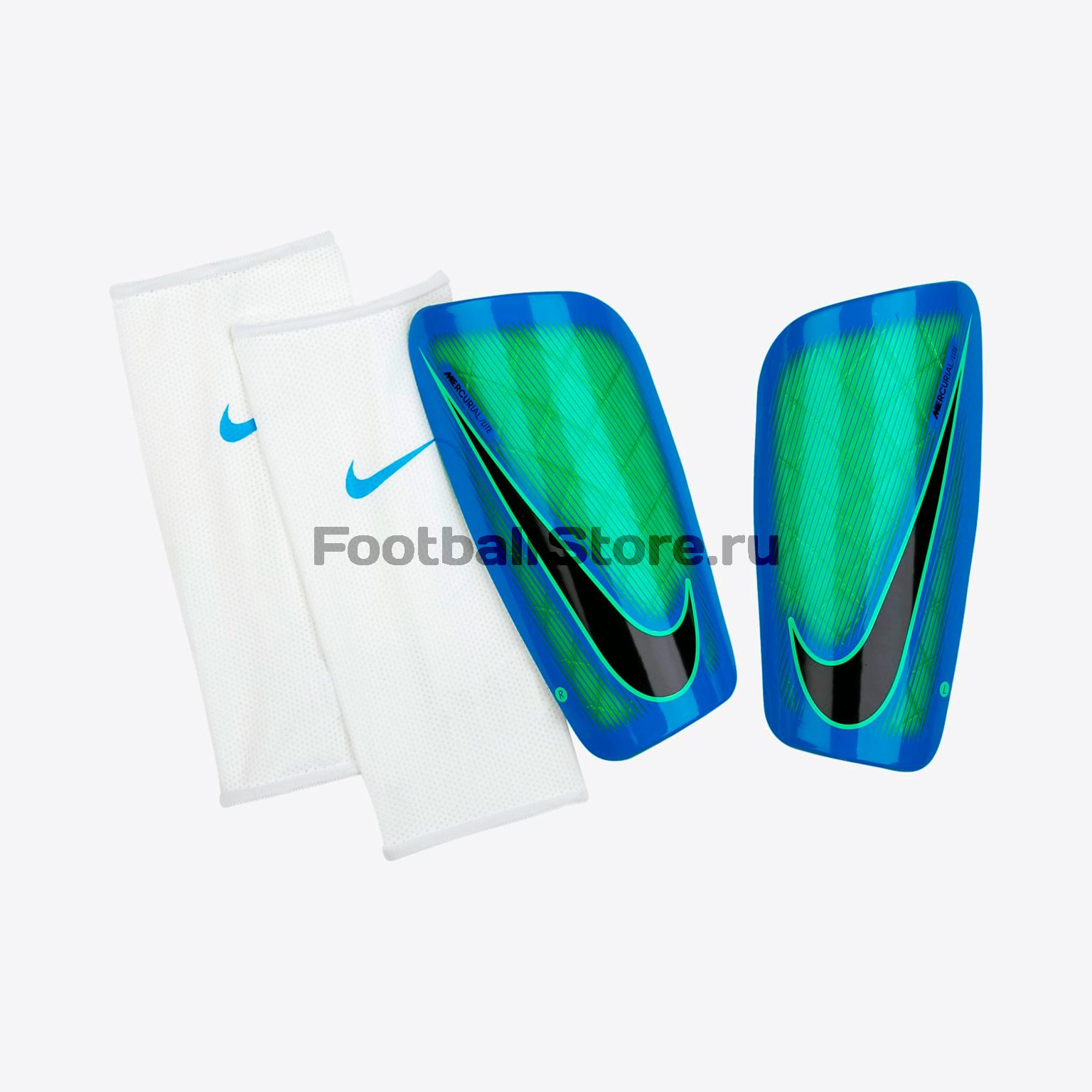 Защита ног Nike Щитки Nike NK Mercurial LT GRD SP2086-300 защита nike защита nk hyprstrng mtch ankl slv