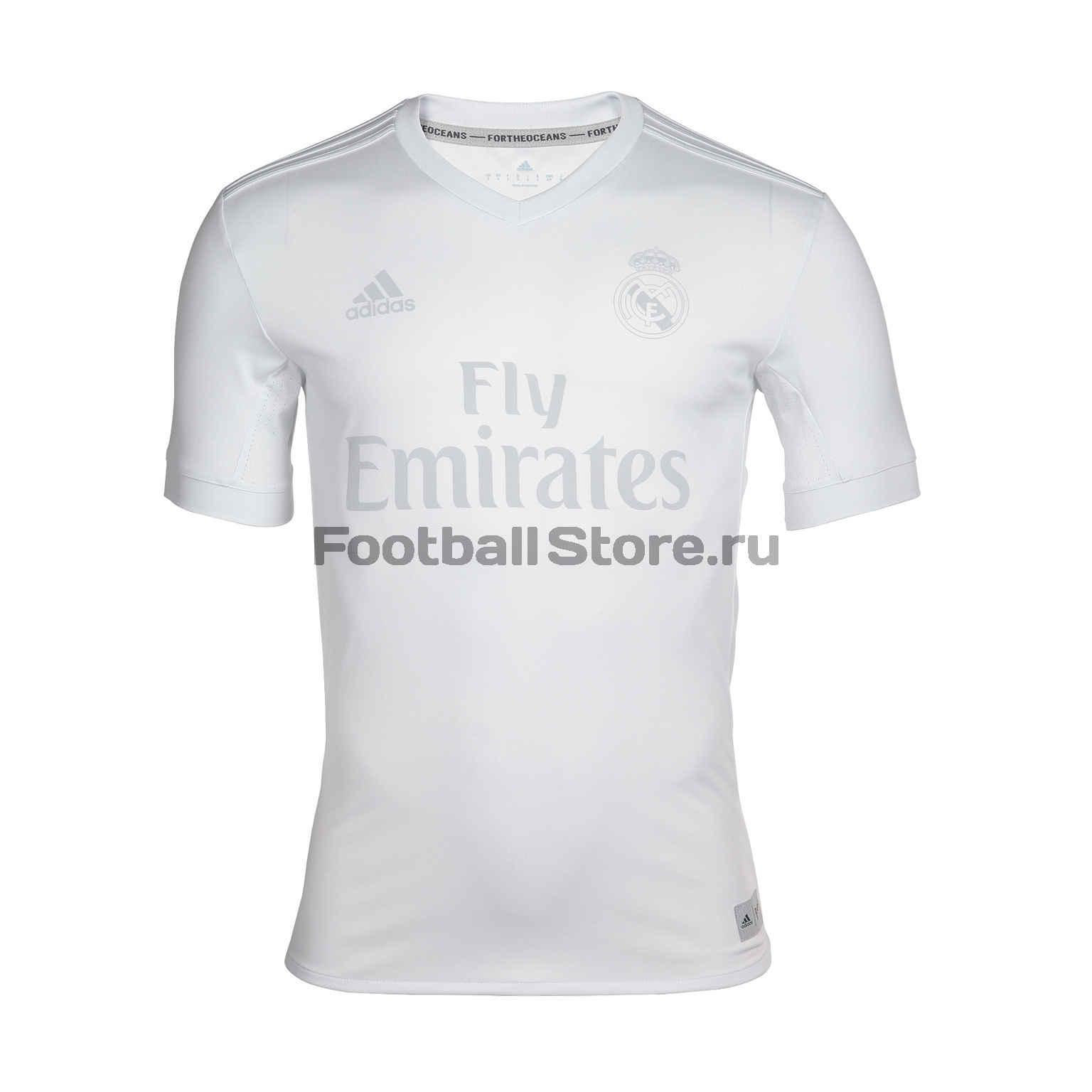 Real Madrid Adidas Футболка Adidas Real Madrid Parl JSY B48903 real madrid adidas свитер adidas real madrid euhybrid top bq7851