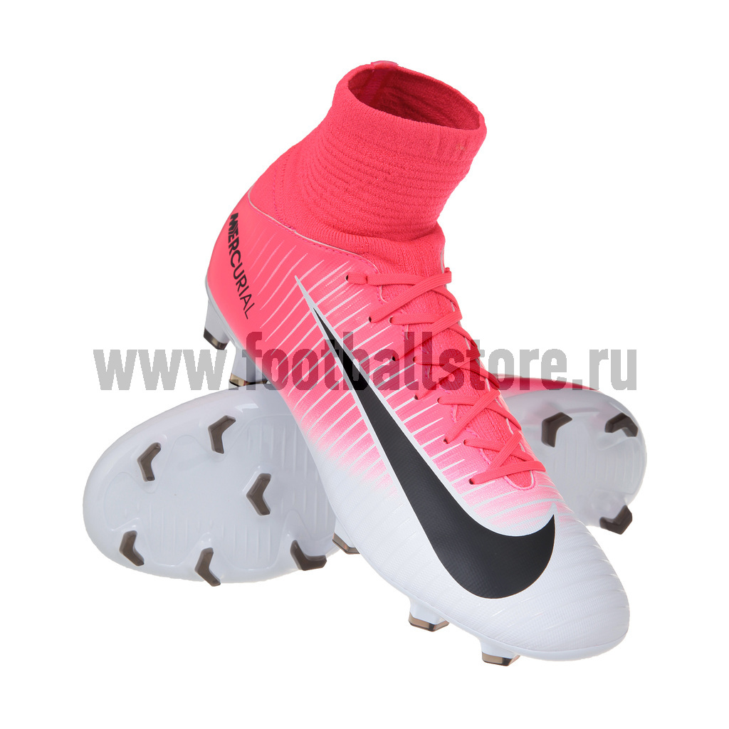 Детские бутсы Nike Бутсы Nike JR Mercurial Superfly V FG 831943-601 игровые бутсы nike бутсы nike mercurial superfly v df fg 831940 801