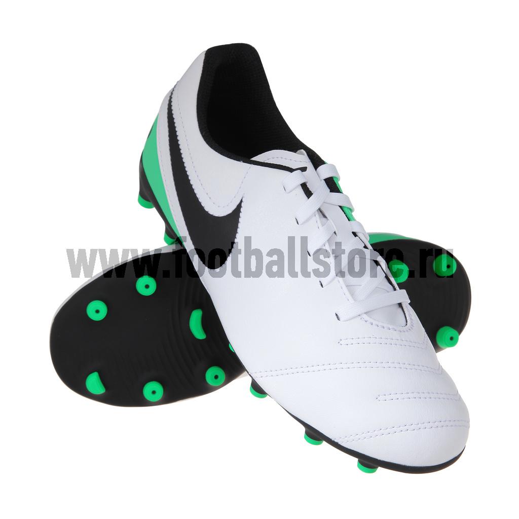 Бутсы Nike Бутсы Nike JR Tiempo Rio III FG 819195-103