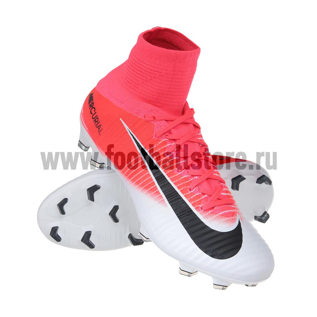 Игровые бутсы Nike Бутсы Nike Mercurial Superfly V DF FG 831940-601 бутсы nike nike ni464amjff16