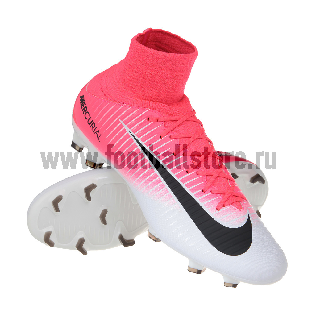 Игровые бутсы Nike Бутсы Nike Mercurial Veloce III DF FG 831961-601 бутсы nike nike ni464amjff16