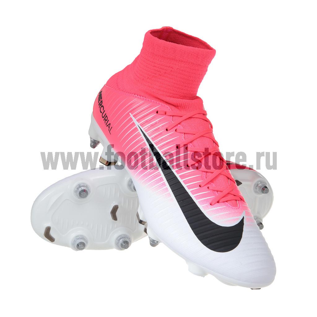 Игровые бутсы Nike Бутсы Nike Mercurial Veloce III DF SG-Pro 831962-601 бутсы зальные nike nike ni464amhbs90