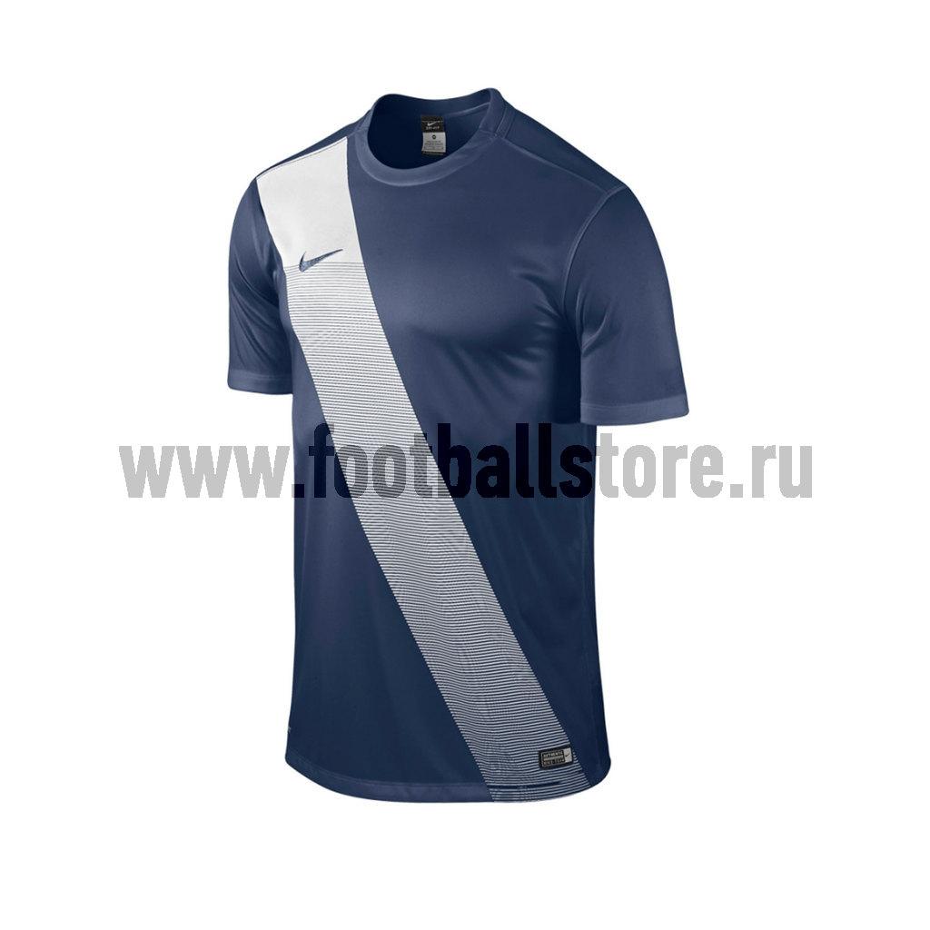 Футболка игровая Nike Sash JSY 645497-410 футболка игровая nike dry tiempo prem jsy ss 894230 057