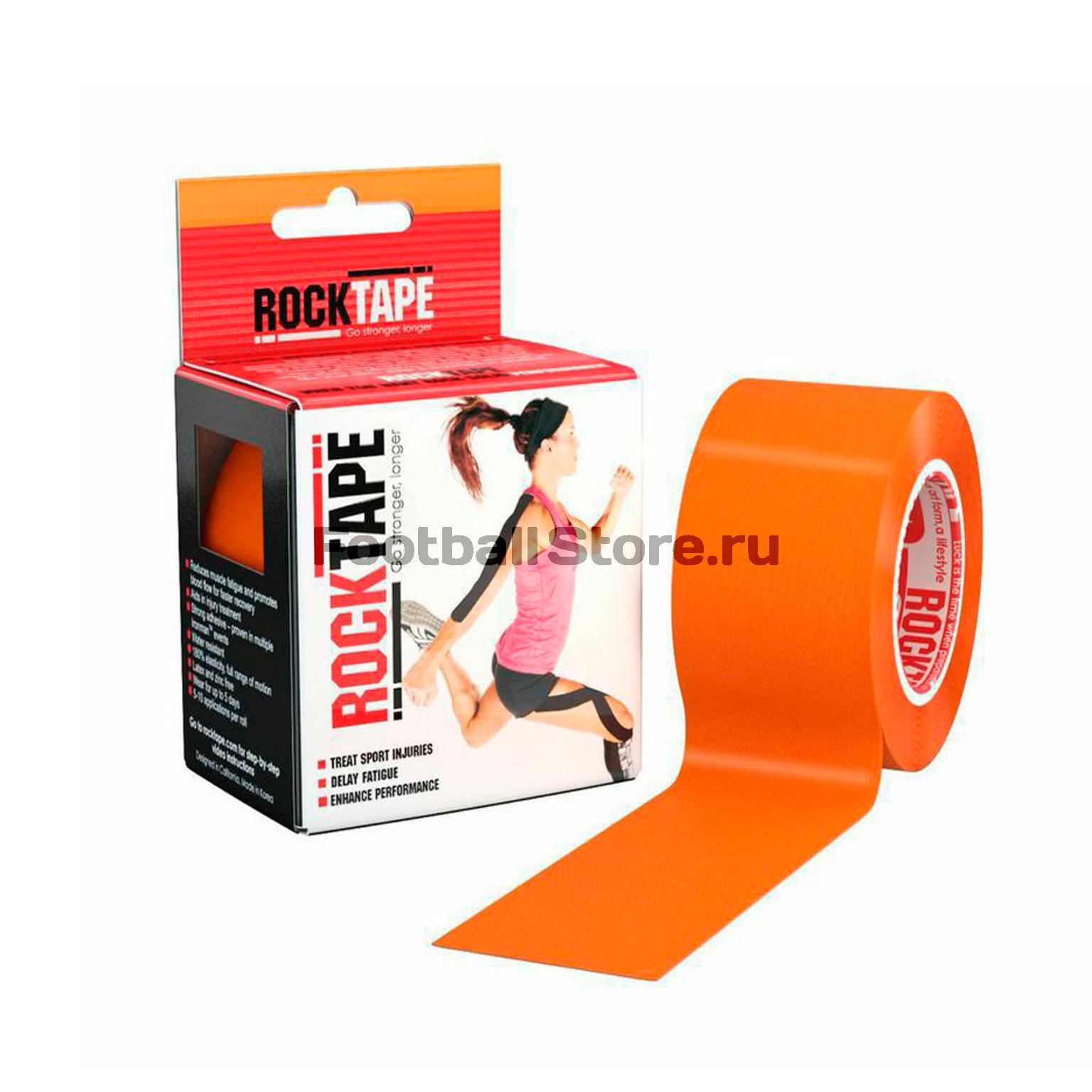 Медицина Rocktape ТЕЙП Rocktape, classic, оранжевый 5см х 5м кинезия тейп в аптеке