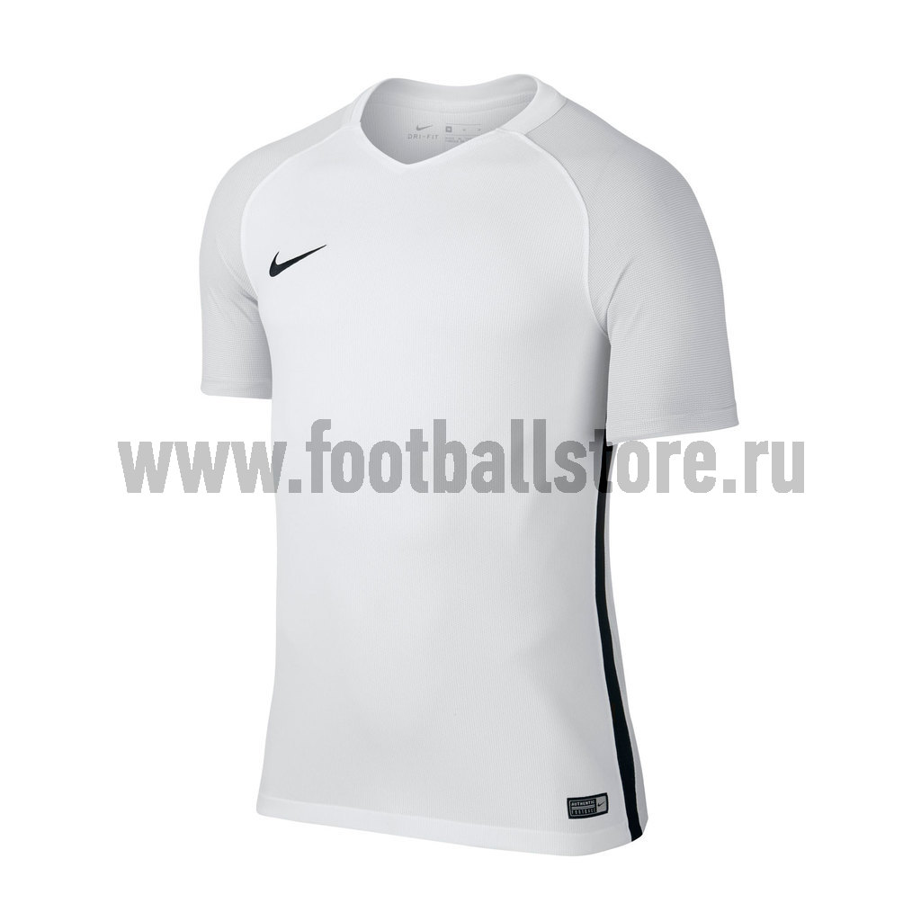 Игровая форма Nike Футболка игровая детская Nike SS YTH Revolution IV JSY 833018-100 термобелье верх поддевка nike core comp ss top yth sp15 522801 010 s l чёрный