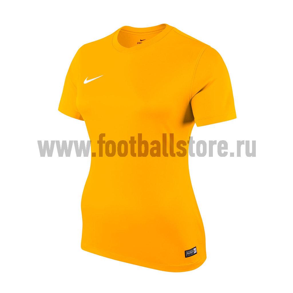 Футболка игровая женская Nike SS W Park VI JSY 833058-739 футболки nike футболка игровая nike ss revolution iv jsy 833017 010