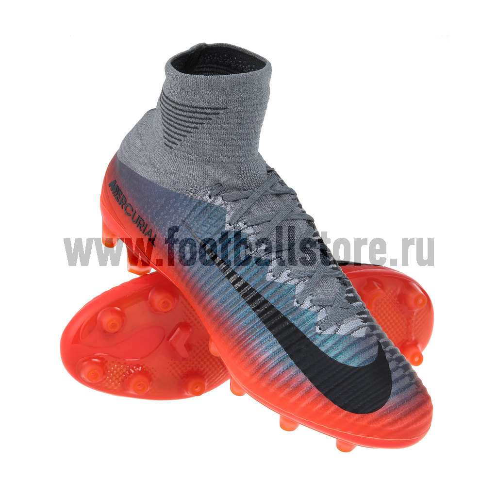 Игровые бутсы Nike Бутсы Nike Mercurial Superfly V CR7 AG-Pro 852510-001 игровые бутсы nike бутсы nike mercurial superfly v df fg 831940 801