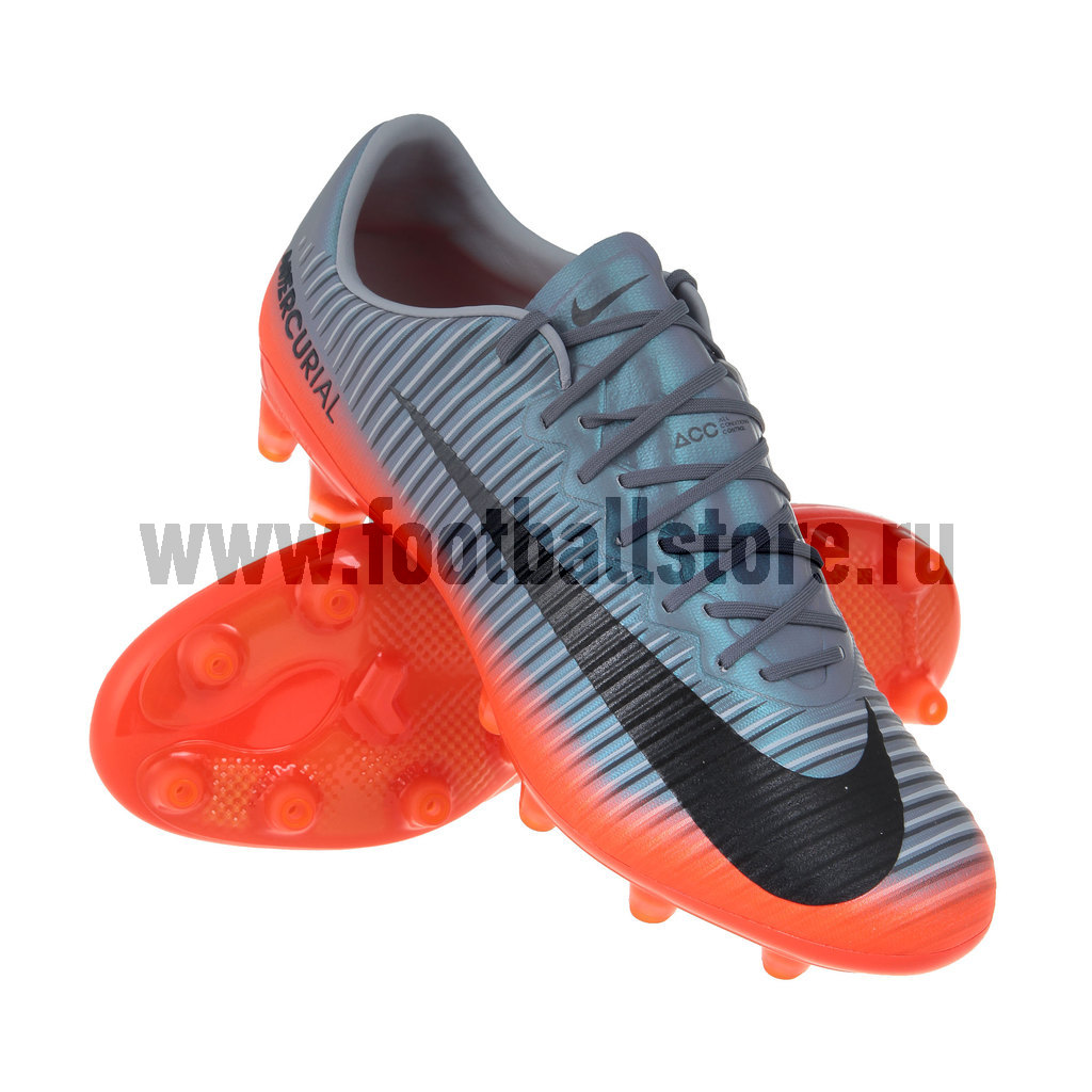 Игровые бутсы Nike Бутсы Nike Mercurial Vapor XI CR7 AG-Pro 878647-001 спортинвентарь nike чехол для iphone 6 на руку nike vapor flash arm band 2 0 n rn 50 078 os
