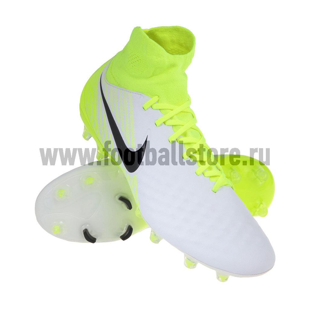 Игровые бутсы Nike Бутсы Nike Magista Orden II FG 843812-109 игровые бутсы nike бутсы nike magista orden ii fg 843812 801