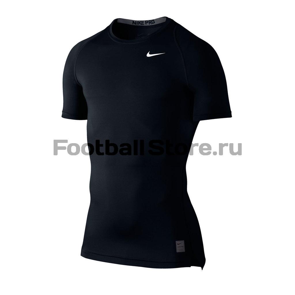 Белье Nike Белье футболка Nike Cool Comp SS  703094-010 термобелье верх поддевка nike core comp ss top yth sp15 522801 010 s l чёрный