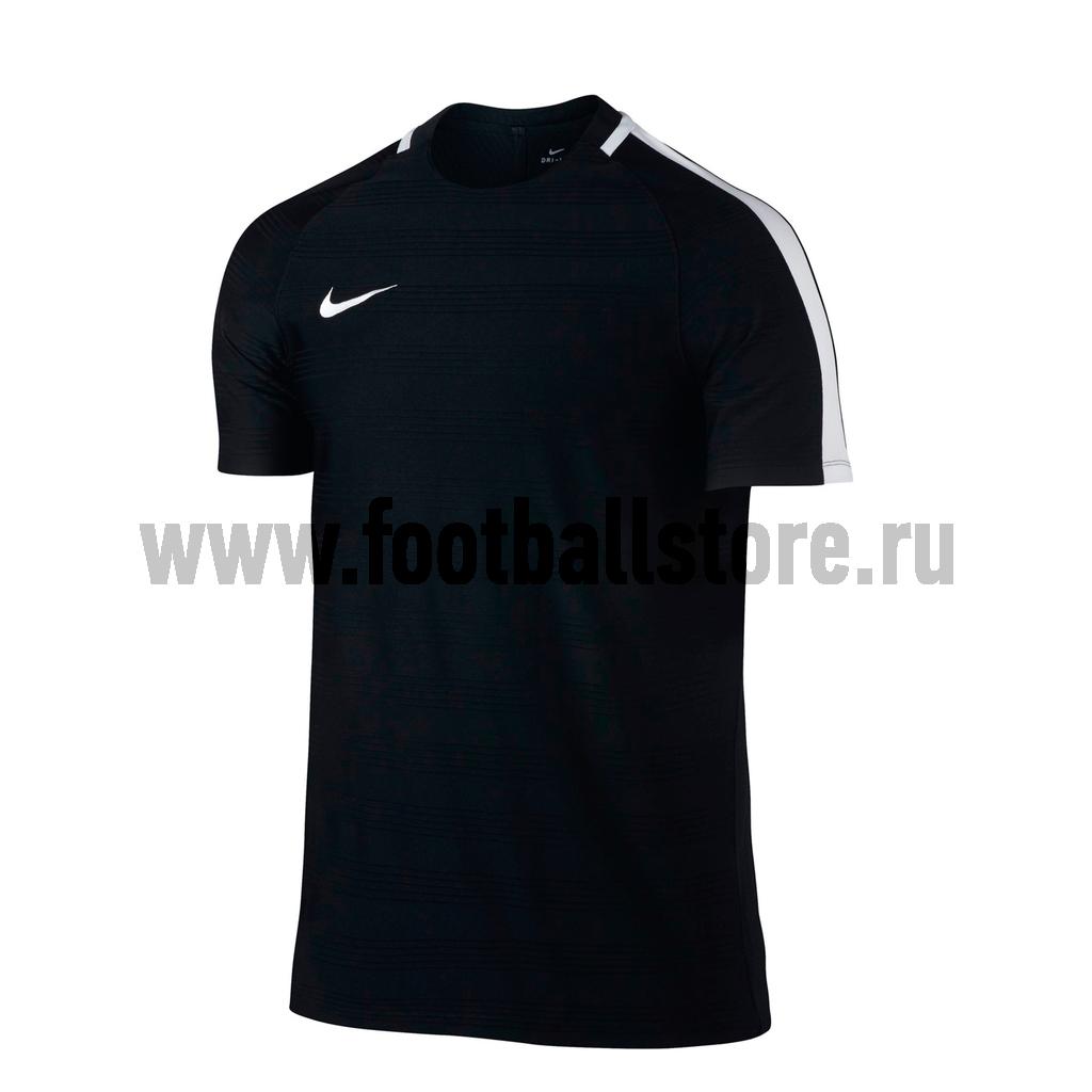 Футболка тренировочная Nike Squad 844376-010 футболка тренировочная подростковая nike размер xs