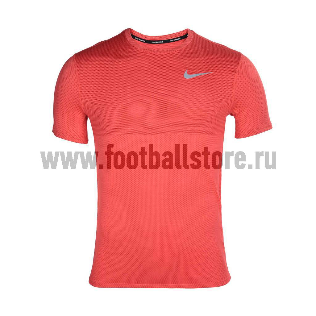 Футболки Nike Футболка тренировочная Nike M NK Relay Top SS 833580-852 игровая форма nike футболка детская nike ss precision iii jsy boys 645918 410