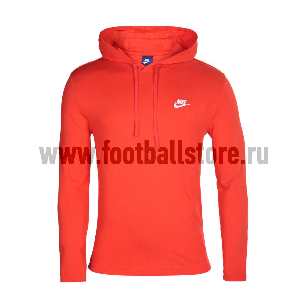 Свитера/Толстовки Nike Толстовка Nike Hoodie JSY Club 807249-852 толстовка nike nike ni464emplh68