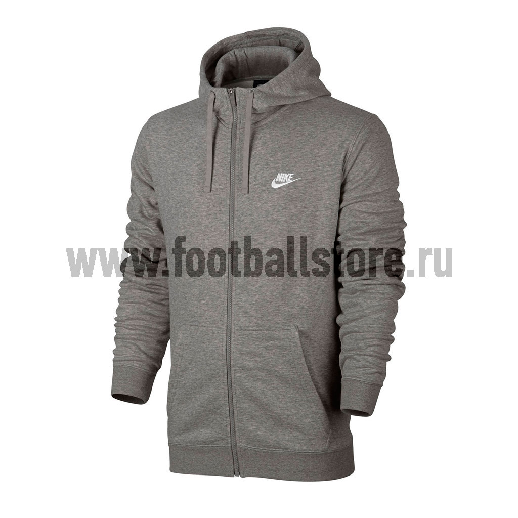 Толстовка Nike M NSW Hoodie FZ FT Club 804391-063 original new arrival 2017 nike as m nsw av15 pant wvn men s pants sportswear