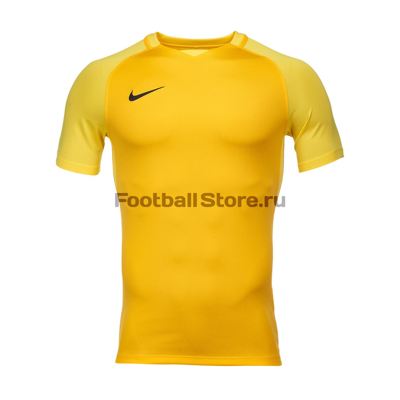 Футболки Nike Футболка игровая Nike Trophy III 881483-739 игровая форма nike футболка детская nike ss precision iii jsy boys 645918 410