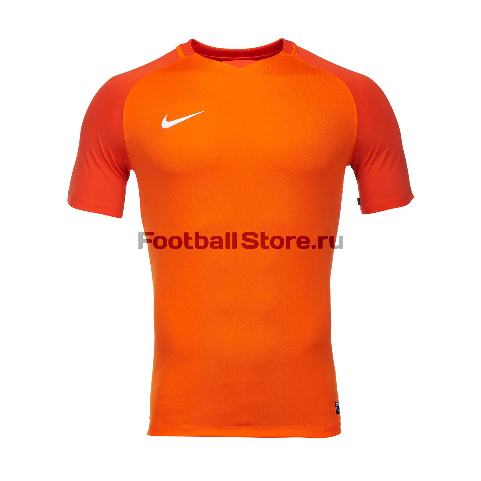 Футболки Nike Футболка игровая Nike Trophy III 881483-815 игровая форма nike футболка детская nike ss precision iii jsy boys 645918 410