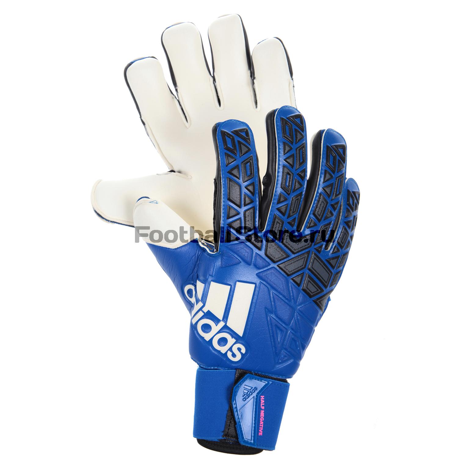 Перчатки вратарские Adidas Ace Half Neg AZ3688 перчатки вратарские adidas ace half neg az3688