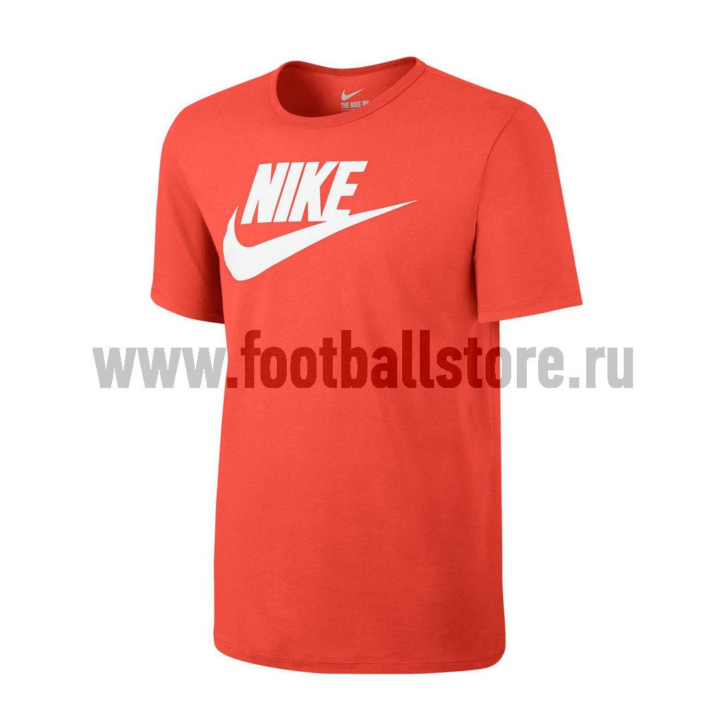 Футболка тренировочная Nike M NSW Tee Icon Futura 696707-852
