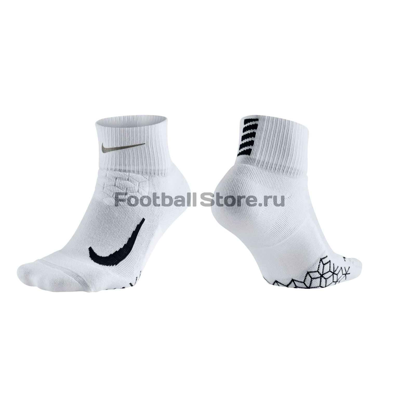 Носки Nike Elite Cushion Quarter Running Sock SX5463-100 чулок д щитков nike guard lock elite sleeve su12 se0173 011 m чёрный