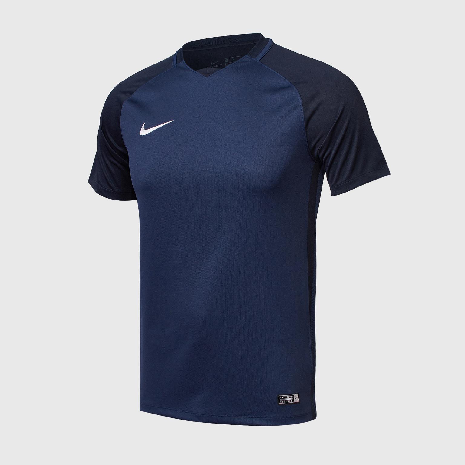 Футболки Nike Футболка игровая Nike Trophy III 881483-410 колеса