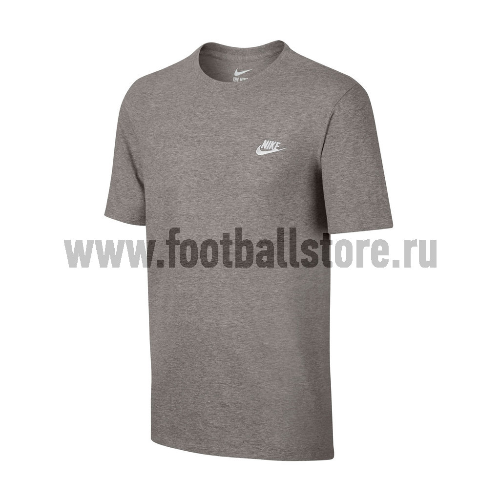 Футболка тренировочная Nike Tee Club Embrd Ftra 827021-063