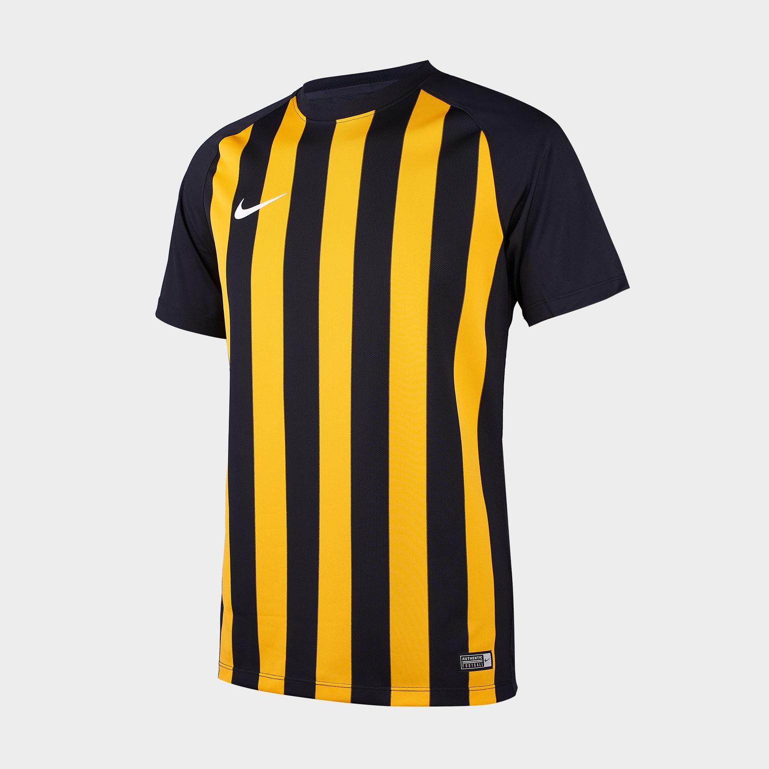 Футболка игровая Nike SS Striped Segment III JSY 832976-010 футболки nike футболка игровая nike ss revolution iv jsy 833017 010