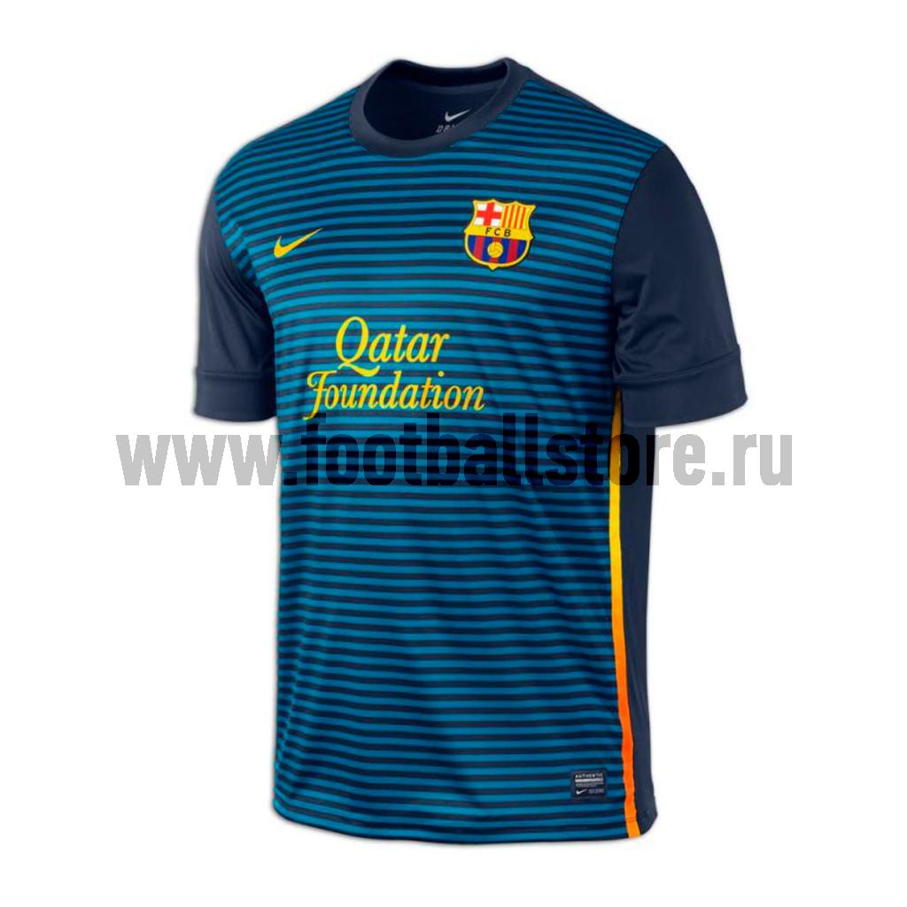 Barcelona Nike Майка тренировочная Nike Barcelona ss prematch top 1