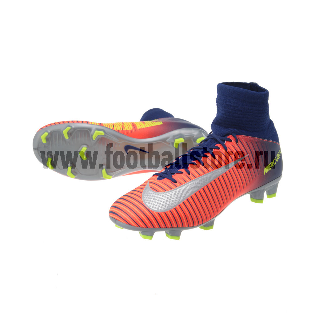 Детские бутсы Nike Бутсы Nike JR Mercurial Superfly V FG 831943-409 игровые бутсы nike бутсы nike mercurial superfly v df fg 831940 801
