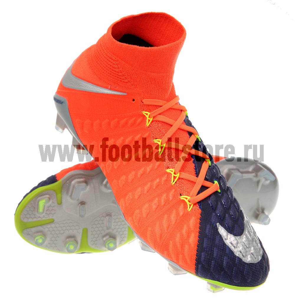 Игровые бутсы Nike Бутсы Nike HyperVenom Phantom III DF FG 905274-408