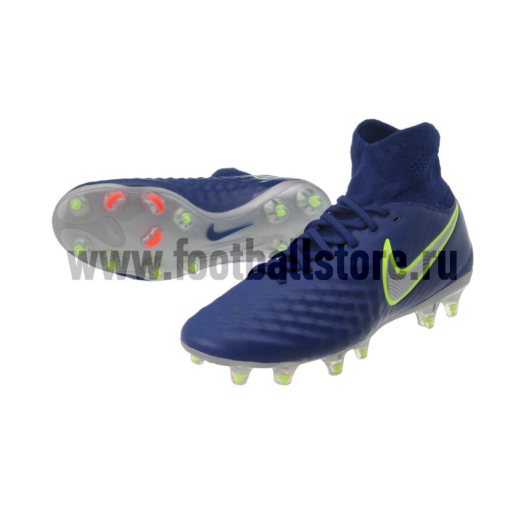 Детские бутсы Nike Бутсы Nike JR Magista Obra II FG 844410-409