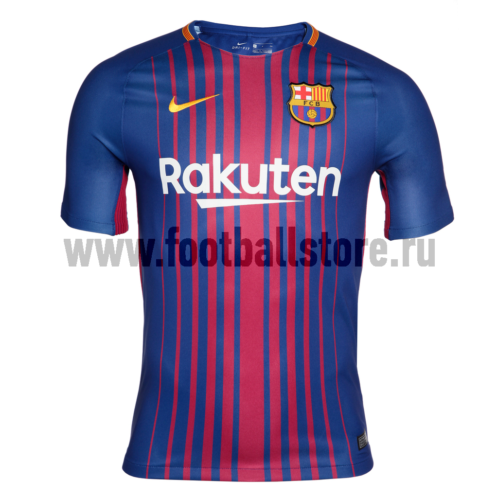 Футболка игровая Nike Barcelona Stadium Home 847255-456 nike mcfc ha gk stadium short