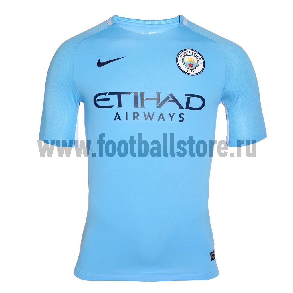 цены Manchester City Nike Футболка Nike Manchester City Home 847261-489