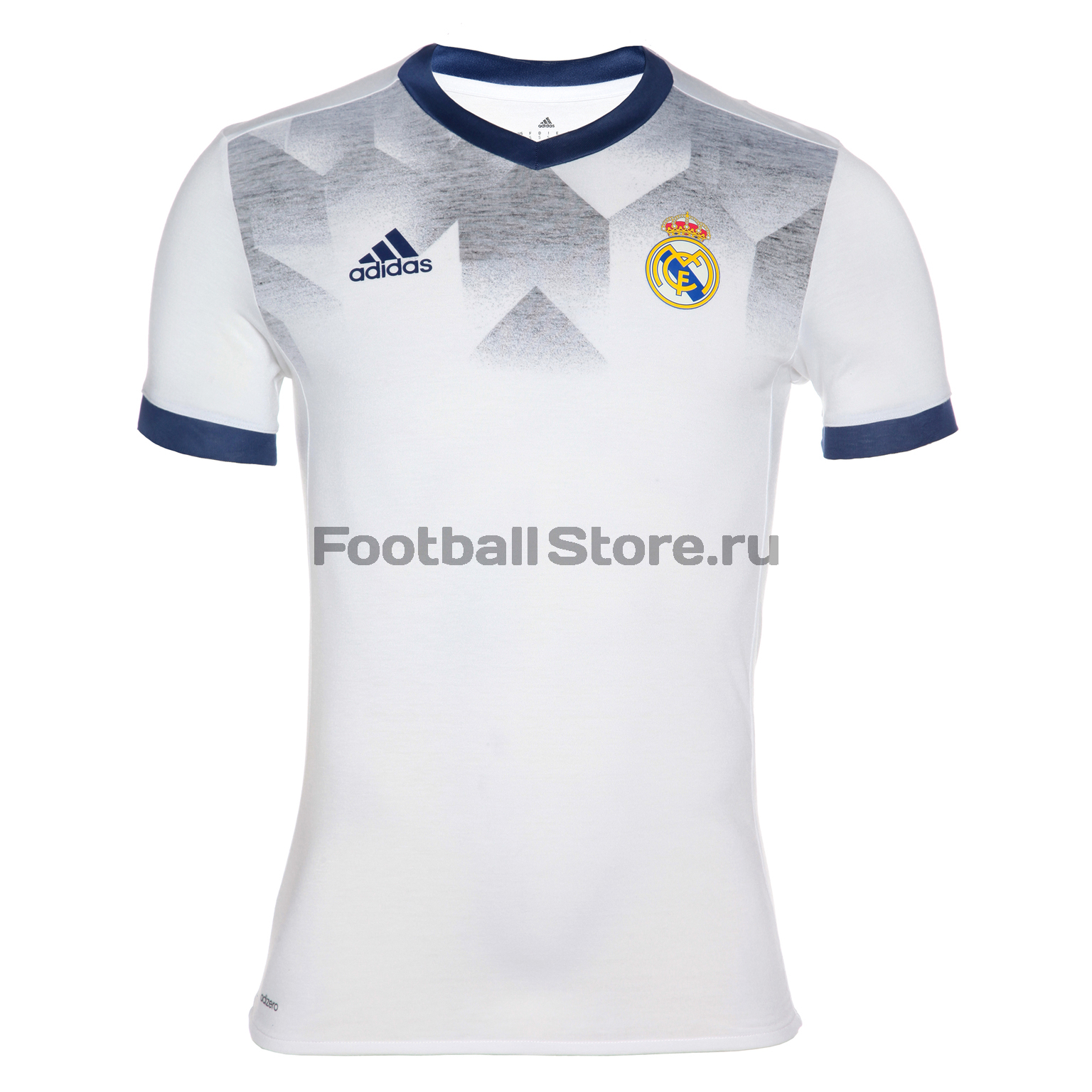 Real Madrid Adidas Футболка тренировочная Adidas Real Madrid H Preshi BP9169 real madrid adidas свитер adidas real madrid euhybrid top bq7851