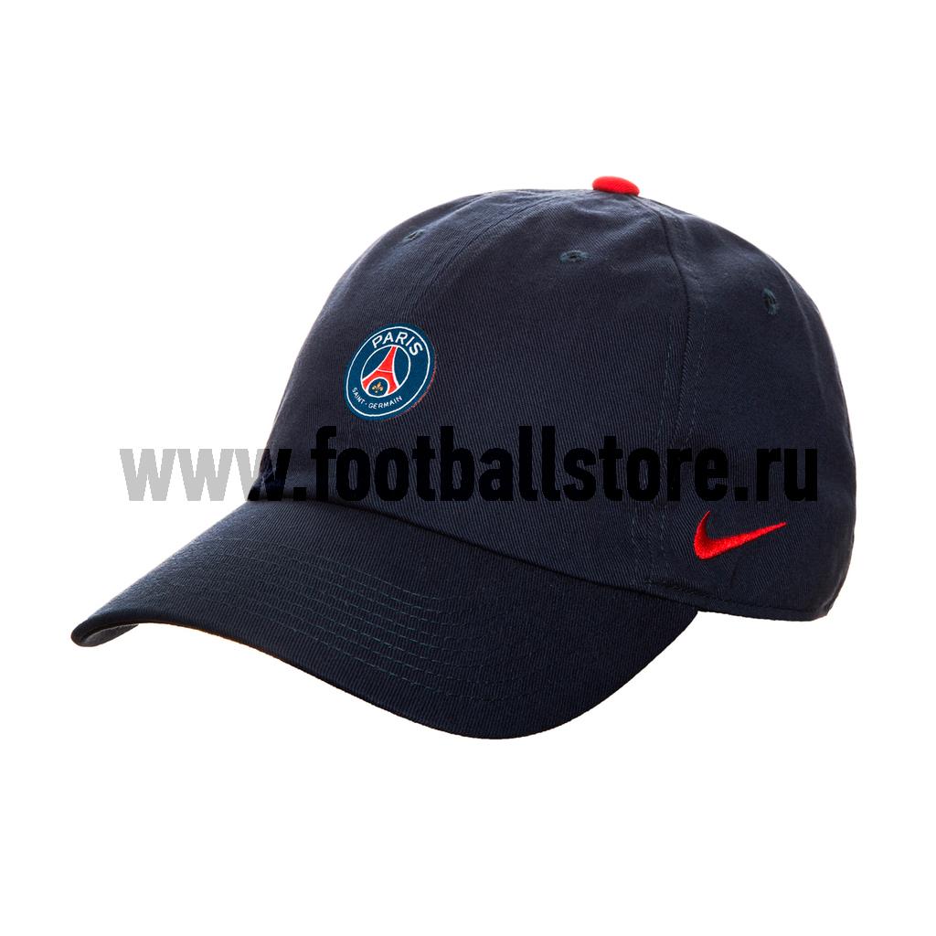 PSG Nike Бейсболка Nike PSG 881718-410 psg nike гетры nike psg stadium sx6033 429
