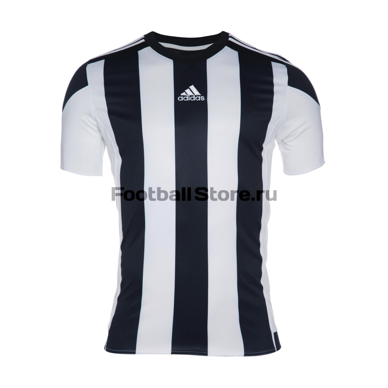 Футболка игровая Adidas Striped 15 JSY M62777 striped longline tshirt
