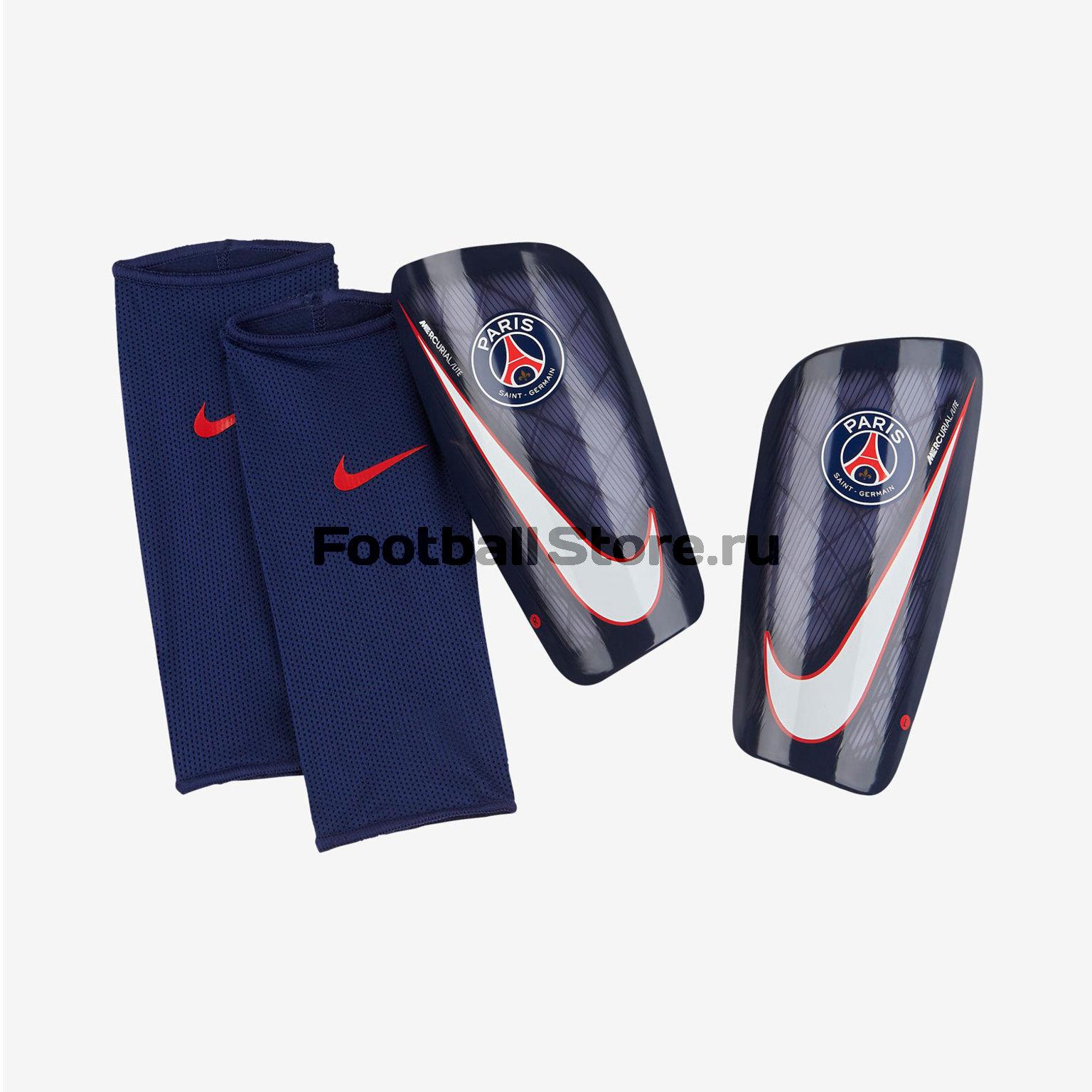 Щитки Nike PSG NK Mercurial Lite SP2113-488 psg nike гетры nike psg stadium sx6033 429
