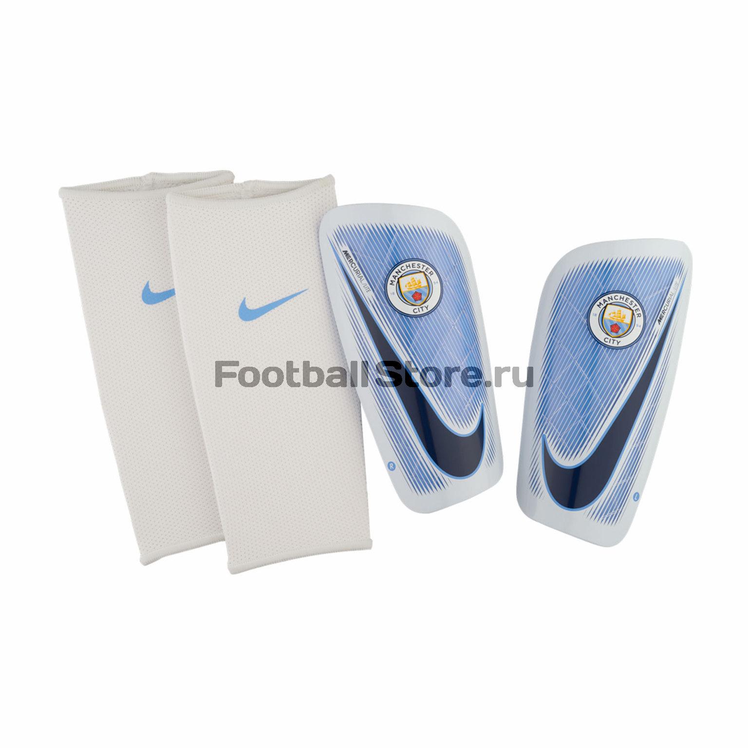 Manchester City Nike Щитки Nike Manchester City Mercurial Lite SP2111-488 nike nike mercurial lite