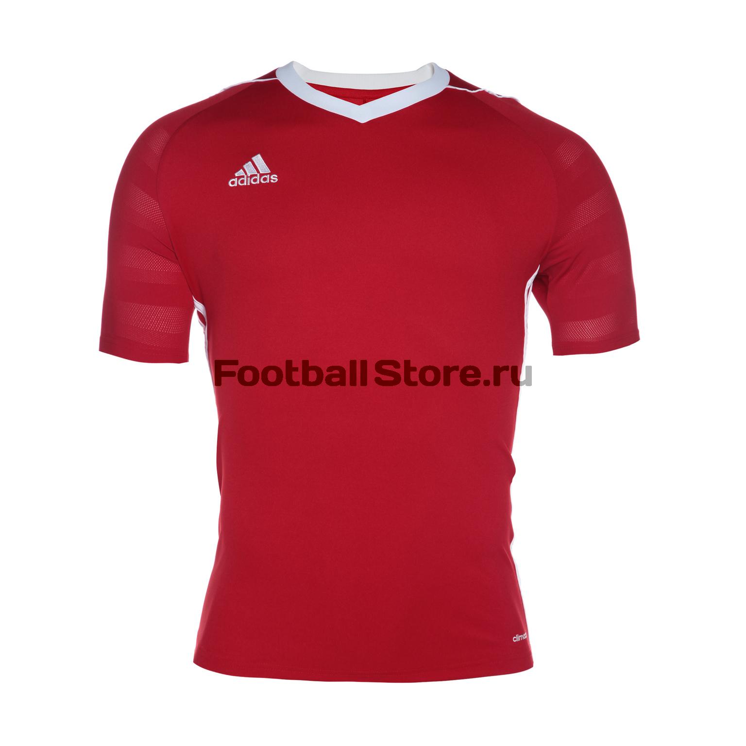 Футболки Adidas Футболка игровая Adidas Tiro 17 S99146
