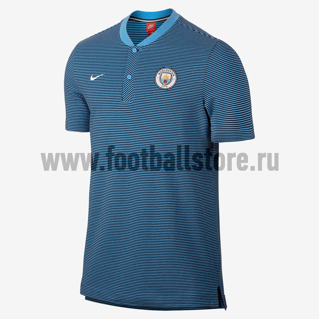 Manchester City Nike Поло Nike Manchester City Modern AUT 867823-488